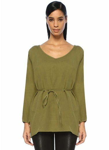 American Vintage Bluz Yeşil